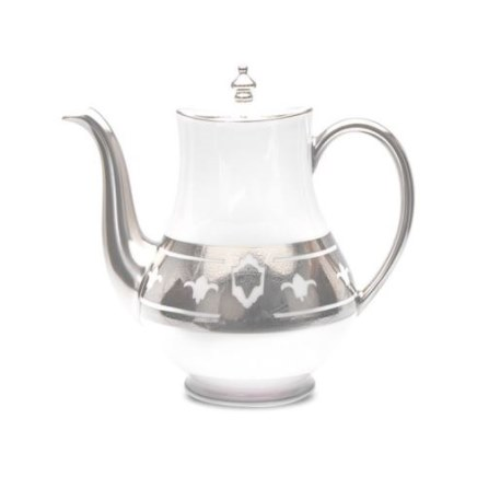 Haviland GRAND APPARAT PLATINUM Coffee Pot, Large