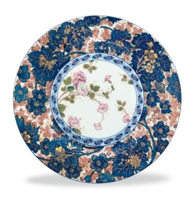 Haviland DAMMOUSE Salad Plate