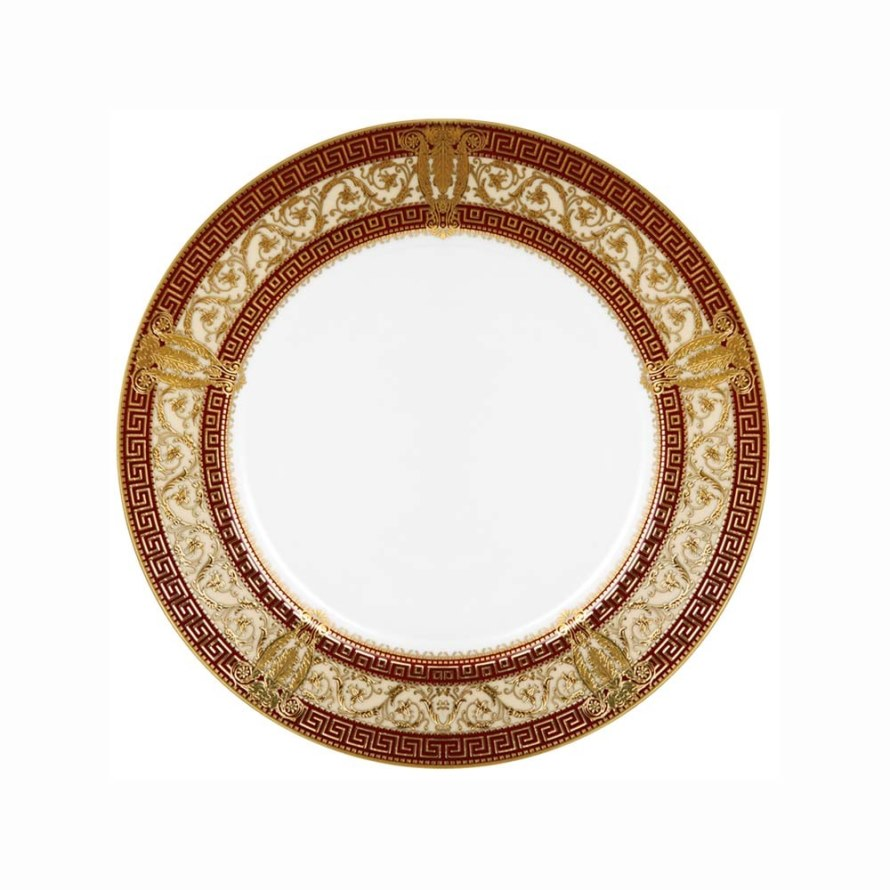Haviland SALON MURAT CHERRY-IVORY AND GOLD Bread & Butter Plate