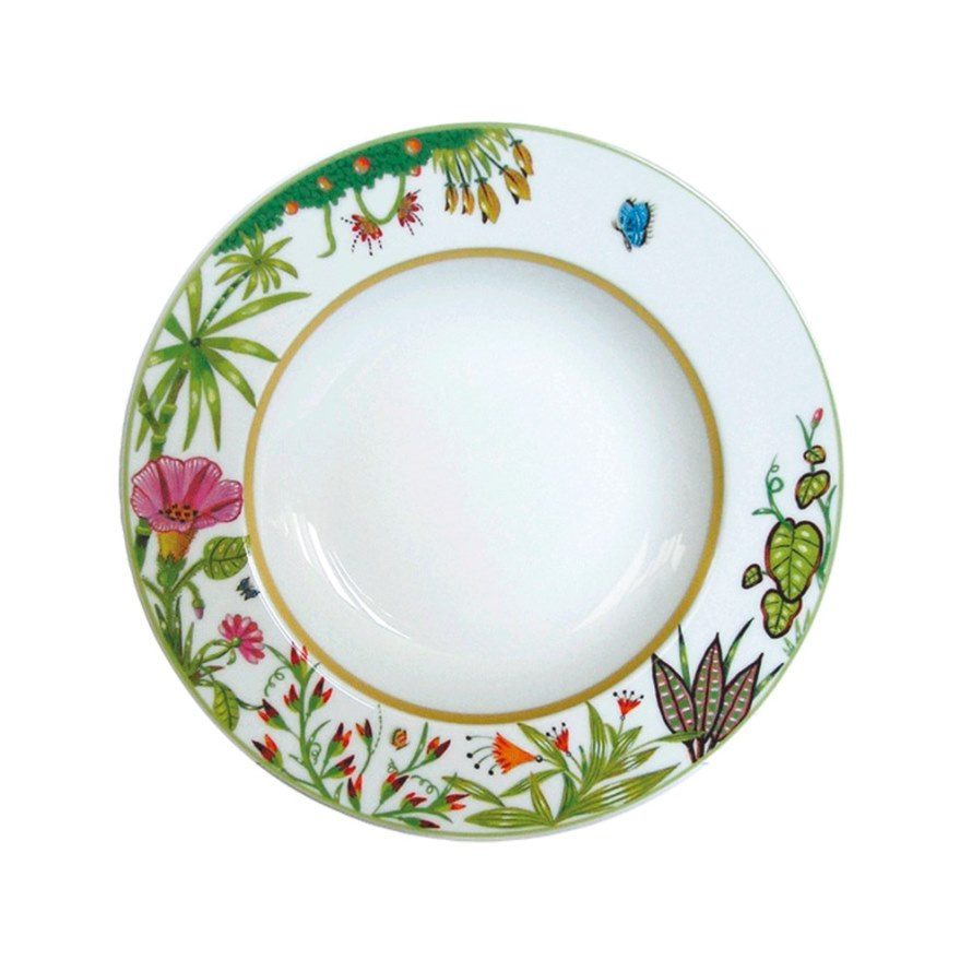 Haviland ALAIN THOMAS Rim Soup Plate