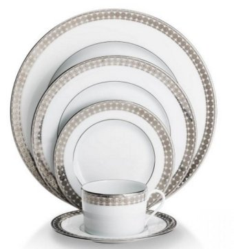 Haviland ETERNITY WHITE AND PLATINUM