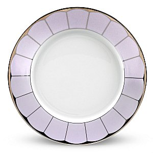 Haviland ILLUSION LAVENDER AND PLATINUM RIM