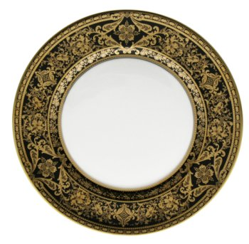 Haviland MATIGNON BLACK AND GOLD