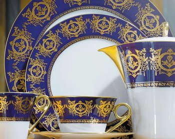Haviland RITZ IMPERIAL BLEU DE FOUR