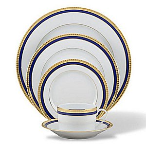 Haviland SYMPHONY GOLD AND BLUE Dinnerware