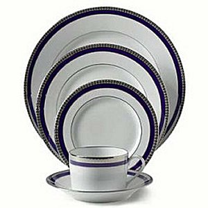 Haviland SYMPHONY PLATINUM AND BLUE Dinnerware