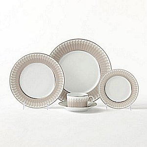 Haviland VICTOIRE PLATINUM LIGHT BROWN