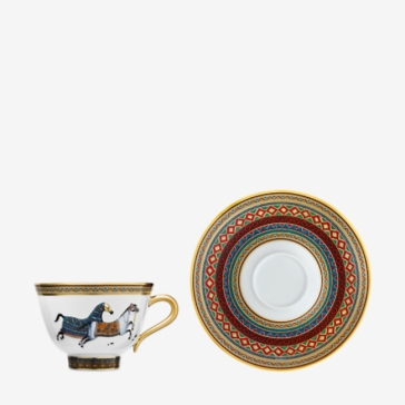 Hermes Cheval d'Orient Tea Cup and Saucer No. 2