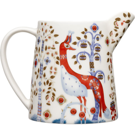 Taika Pitcher 17 Oz White