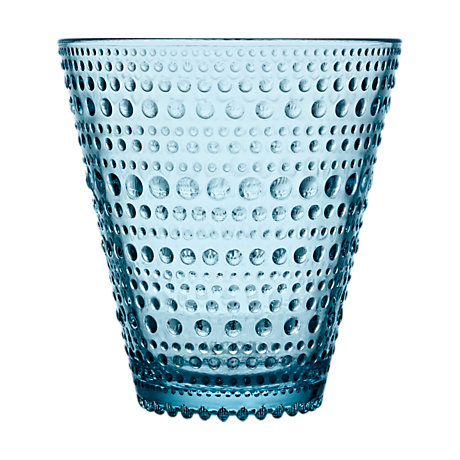 Iittala Kastehelmi Tumbler 10 Oz Light Blue 2Pc