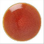 Jars ORANGE TOURRON Dessert Plate  7.9