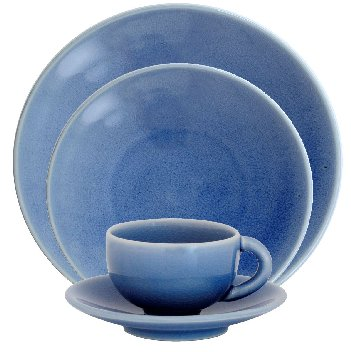 Jars TOURRON NATURAL BLEU CHARDON Dinnerware