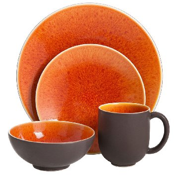 Jars TOURRON NATURAL ORANGE Dinnerware