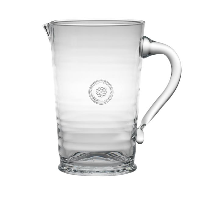 Juliska Berry & Thread Glassware Pitcher