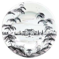 Juliska Country Estate Flint Dinner Plate Main House