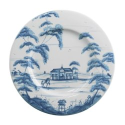 Juliska Country Estate Delft Blue Side/Cocktail Plate Stable