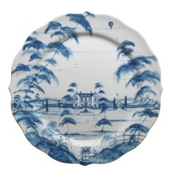 Juliska Country Estate Delft Blue Charger Plate Main House