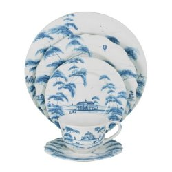 Juliska Country Estate Delft Blue 5pc Setting