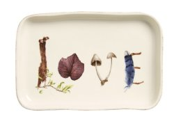 Juliska Forest Walk Gift Tray Love