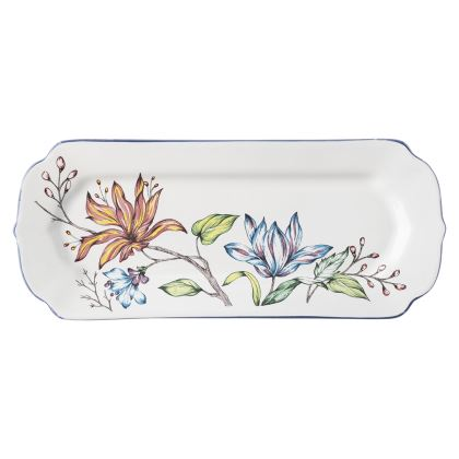 Juliska Floretta Hostess Tray