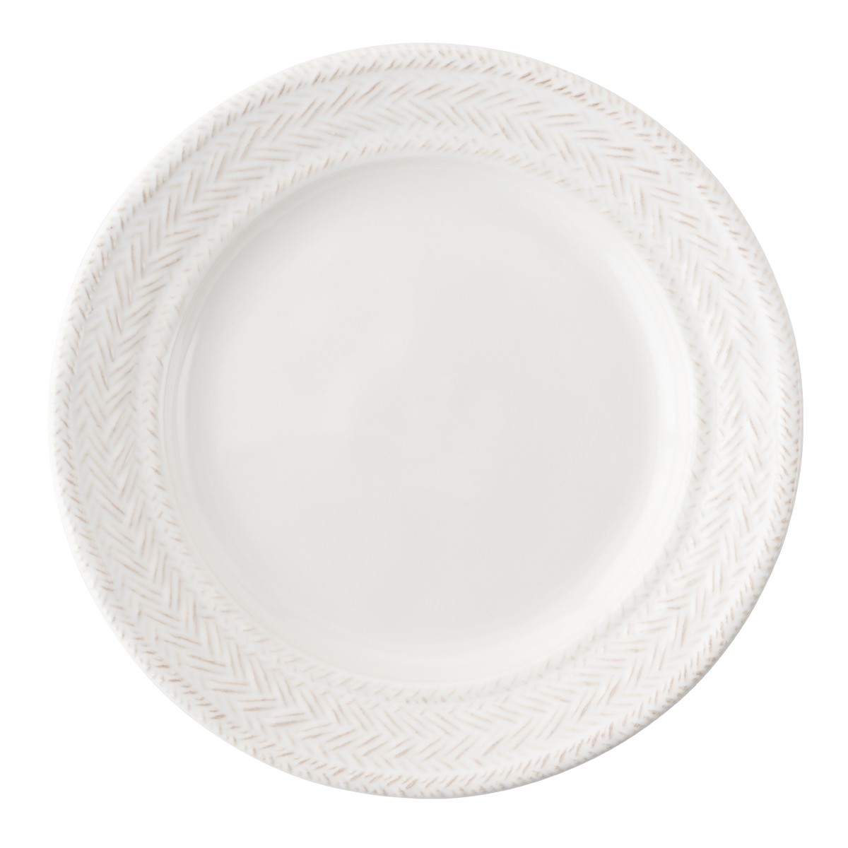 Juliska Le Panier Whitewash Side/Cocktail Plate
