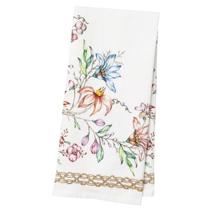 Juliska Floretta Tea Towel