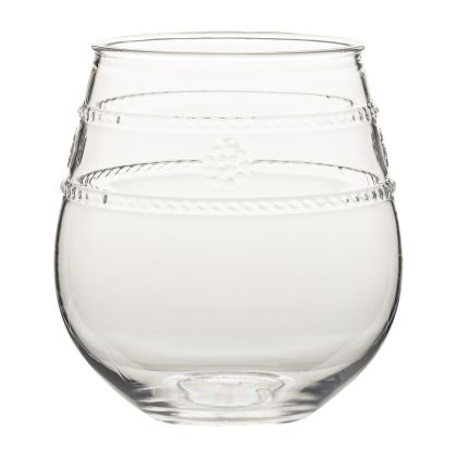 Juliska Isabella Acrylic Stemless Wine Glass