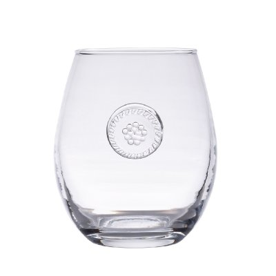 Juliska Berry & Thread Glassware Stemless White Wine