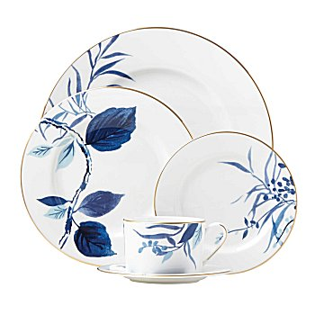 Kate Spade BIRCH WAY INDIGO DINNERWARE