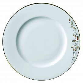 Prouna Diana Gold Dinner Plate