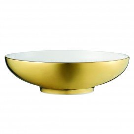 Prouna Diana Gold Fruit / Dessert Bowl