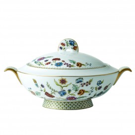 Prouna Gione Covered Vegetable Bowl / Soup Tureen (Large)