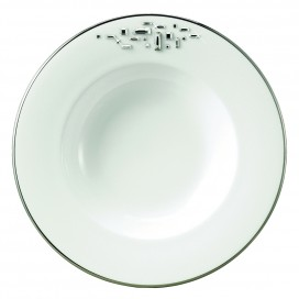 Prouna Diana Black Soup Bowl