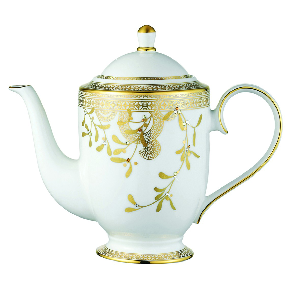 Prouna Golden Leaves Coffee Pot