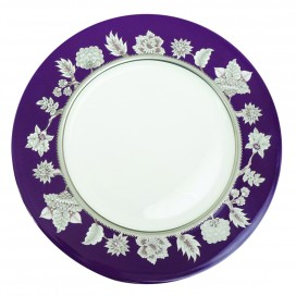 Prouna Pavo Silver Charger Plate