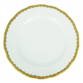 Prouna Antique Gold Bread & Butter Plate