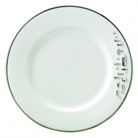 Prouna Diana Black Dinner Plate (Crystal)