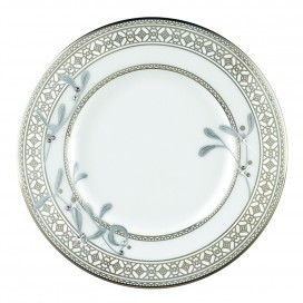 Prouna Platinum Leaves Bread & Butter Plate