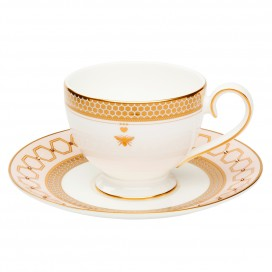 Prouna Honeydew Tea Cup & Saucer