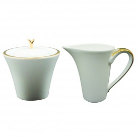 Prouna Comet Gold Sugar & Creamer Set