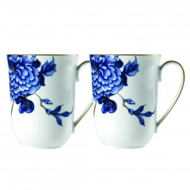 Prouna Emperor Flower Mug, set of 2