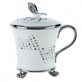Prouna Chain Flamanco Covered Mug