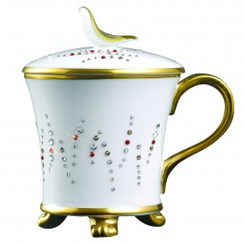 Prouna Chain Cornelian Covered Mug