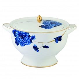 Prouna Emperor Flower Covered Vegetable Bowl / Soup Tureen