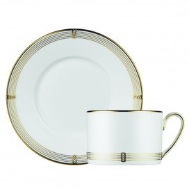 Prouna Regency Gold Tea Cup & Saucer
