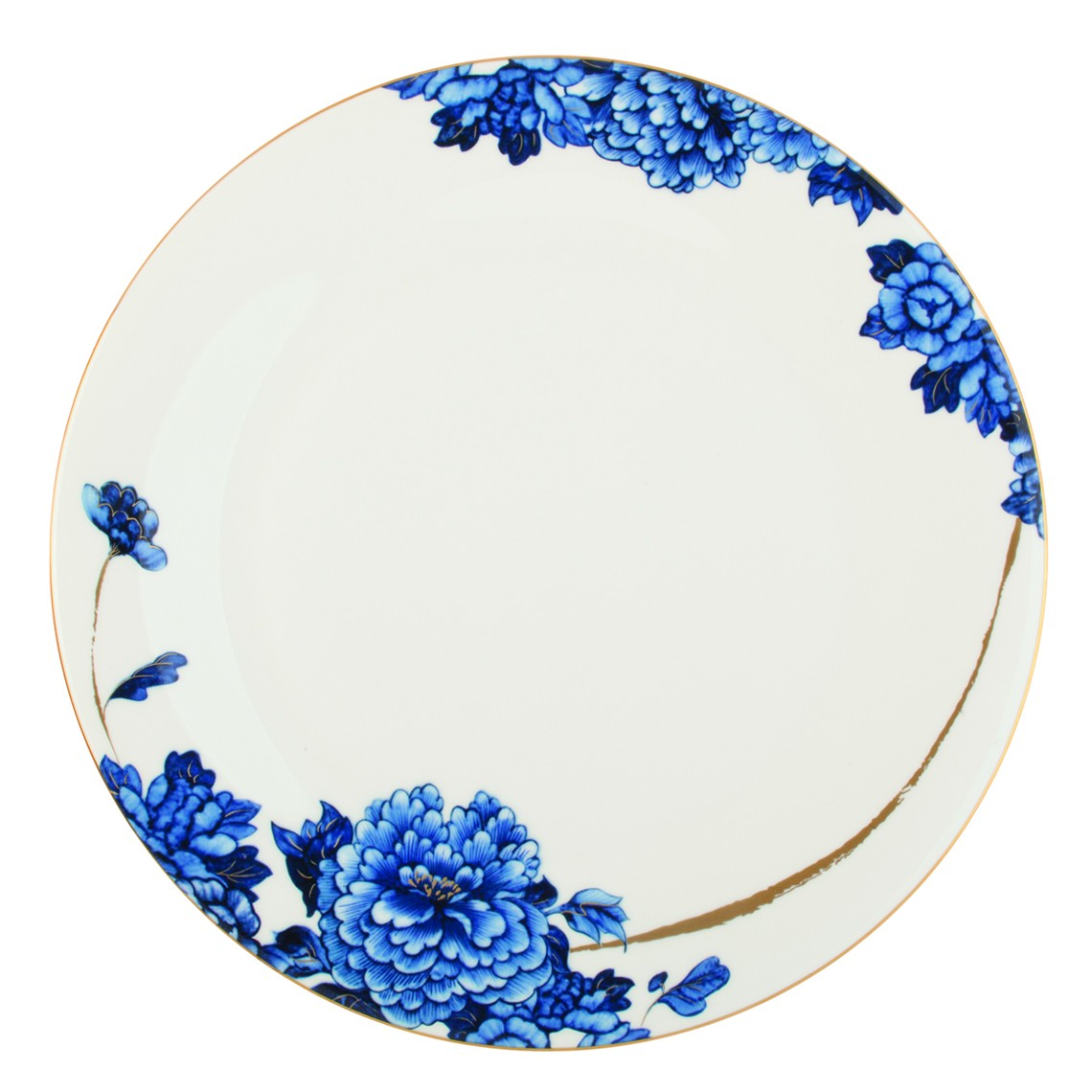 Prouna Emperor Flower Round Platter / Charger Plate