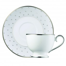 Prouna Princess Platinum Tea Cup & Saucer