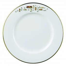 Prouna Diana Gold Bread & Butter Plate