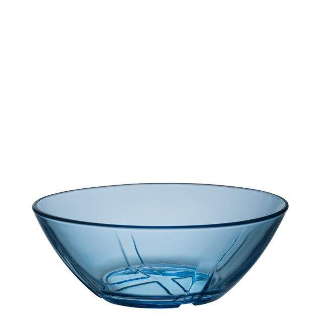 Kosta Boda Bruk Bowl (water blue, small)