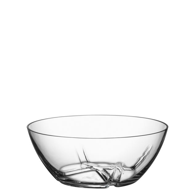 Kosta Boda Bruk Serving Bowl (clear, medium)